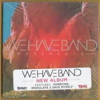 CD 11 TITRES WE HAVE BAND MOVEMENTS NEUF SOUS BLISTER & RARE - Rock