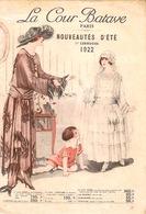 Catalogue Nouveautés D'été 1ère Communion 1922  Rentrée Des Classes Du  Magasin LA COUR BATAVE  Paris (21 Pages)B E - France