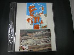 """BELG.1985  2177 & 2178  FDC Maxicards : """" 26é Scheepsvaartscongres / 26é Congrés De Navigation """" - 1981-90"""
