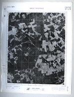 GROTE LUCHT-FOTO MEETKERKE ZUIENKERKE HOUTAVE 63x48cm KAART ORTO PLAN In 1971 TOPOGRAPHIE PHOTO AERIENNE R231 - Zuienkerke