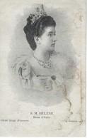THEME - FAMILLE ROYALE - S M HELENE - Reine D'Italie- 14 Octobre 1903 - Familles Royales
