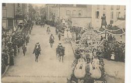 CPA, D. 45 , Montargis , Cavalcade Du 9 Avril, Char Des Bébés  ,Animée  Ed. C.P.M., 1905 - Montargis