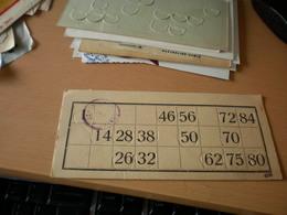 Old Tombola 1919 Zenta Senta Zentai Sport Egylet - Lottery Tickets