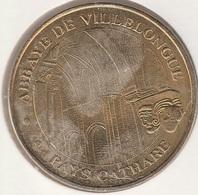 MONNAIE DE PARIS 11 SAINT-MARTIN-LE-VIEIL - Abbaye De Villelongue - 2010 - Monnaie De Paris
