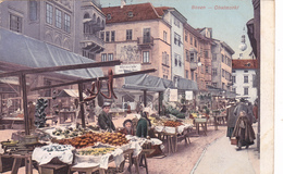 1036/ Bozen, Obstmarkt, Kamposch's Hotel Zum Walter Von Der Vogelweide - Bolzano (Bozen)