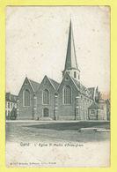 * Gent - Gand (Oost Vlaanderen) * (B 5447 Wilhelm Hoffmann Dresde) église Saint Martin D'Ackerghem, Church, Kerk, TOP - Gent