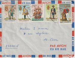 Mozambique Lettre De 1965 Pour La France - Mozambique