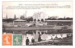Péniches à Sens  (89 - Yonne)  Lavandières Sur L'Yonne - Arken