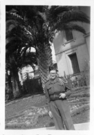 PHOTO  MILITAIRE SOLDAT 8.50 X 6 CM - Oorlog, Militair