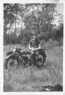 PHOTO MOTOCYCLETTE 9 X 6 CM - Photographs