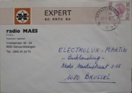 België 1982 Geraardsbergen 9500 - Marcofilia