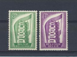 EUROPA Belgique 1956  OCB 994/5 MNH XXX - Europa-CEPT