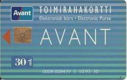 FINLAND - AVANT - 10.93 - Finland