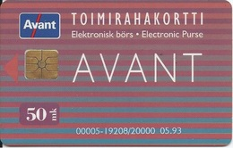 FINLAND - AVANT - 05.93 - Finland