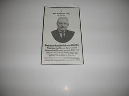 Franciscus Loncke (Eernegem 1852-Oostende 1940);Keters;Billiet - Devotieprenten
