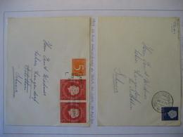 Niederlande/ Netherlands- Beleg Mit Freim. Juliane, Beleg Neues Statut Mi. 654 - Period 1949-1980 (Juliana)