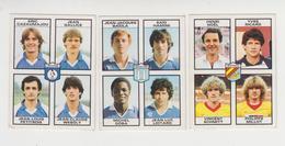 PANINI / 3 Stickers / Football 1984  , MARTIGUES  , ANGOULEME , LIBOURNE - French Edition