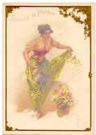 Chromo - Chocolat Du Planteur - Femme - Vrouw - Chocolat