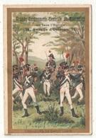 Militaria - Tirailleurs En Garde - 1810 - Cordonnerie De Montrouge - Chromos