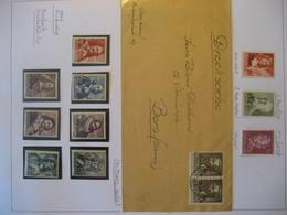 Niederlande/ Netherlands- Beleg Mit Mi. 327, Freimarken Seehelden Aus Satz Mi. 405-421** - Period 1949-1980 (Juliana)