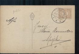 Spijk - Langebalk Stempel - 1922 - Entiers Postaux