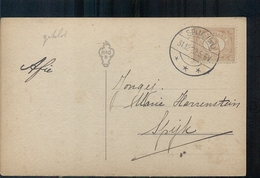 Spijk - Langebalk Stempel - 1922 - Interi Postali