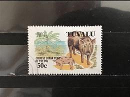 Tuvalu - Jaar Van Het Varken (50) 1995 - Tuvalu