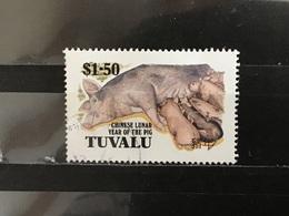 Tuvalu - Jaar Van Het Varken (1.50) 1995 - Tuvalu