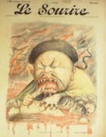 LE SOURIRE-1900-044-Journal Humoristique-CHINE PRINCE TUAN-CADEL-MALHERBE-HUARD-VILLEMOT-BURRET - Books, Magazines, Comics