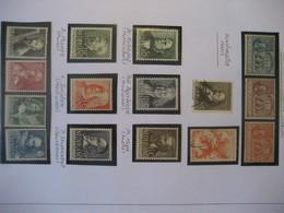 Niederlande/ Netherlands- Satz De Ruyter Mi. 72-74** Fürsorgemarken 1938-1940** - Period 1949-1980 (Juliana)