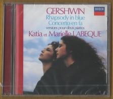 CD KATIA ET MARIELLE LABEQUE RHAPSODY IN BLUE GERSHWIN NEUF SOUS BLISTER & RARE - Klassik