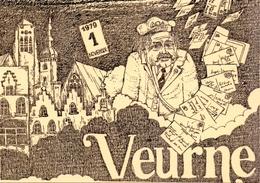 PK - 1° Salon Van De Postkaart -  Veurne 1979 - Eventos