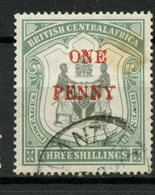 1897 British Central Africa 1 Penny Coat Of Arms Issue #57 - Great Britain (former Colonies & Protectorates)