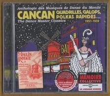 CD 20 TITRES CANCAN 1951/1959 ANTHOLOGIE DES MUSIQUES DE DANSE DU MONDE NEUF SOUS BLISTER & RARE - Music & Instruments
