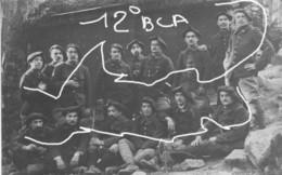 Armée Française 12 ° BCA Chasseurs Alpins - Krieg, Militär
