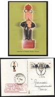 India  2005  Elephant Letter Box    Mobile Mail Card  # 20075  D  Inde Indien - Elephants