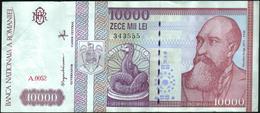 ROMANIA - 10.000 Lei 02.1994 VF+ P.105 - Roemenië