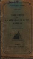 Livret Instruction Sur La Mitrailleuse LEWIS D'aviation 1925 Avion - 1914-18