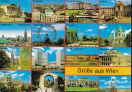 AN20 Gruesse Aus Wien - Multiview Postcard - Vienna