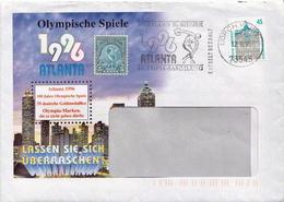Postal History: Germany Cover With Interesting Cancel - Summer 1996: Atlanta