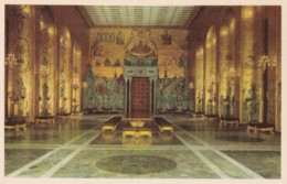 AN93 Stadshuset, Stockholm, Gyllene Salen Med Mosaiker Av Einar Forseth - Sweden