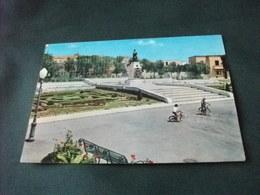 MONUMENTO AI CADUTI  E FONTANA ORNAMENTALE AUGUSTA BAMBINI IN BICICLETTA LAMPIONE SICILIA - Monumenti Ai Caduti