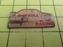 613c Pin's Pins / Beau Et Rare : THEME AUTOMOBILE / BMW FINA RACING RALLYE La Planète Te Dit Pas Merci ! - BMW