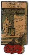 C80 - JO ATHENS 1896 - 1st OLYMPIAD - COCA COLA -Verso : C 1990 IOC / R THE CC / C / SOURCE - Coca-Cola