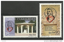 AC - TURKEY STAMP -  YUNUS EMRE MNH 03 MAY2010 - 1921-... República