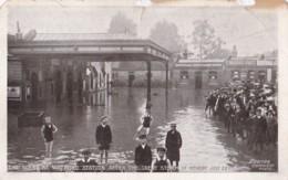 AO77 Flooding At Watford Station, July 1907 - Hertfordshire