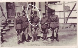 Armée Française Officier France 40 Fanion Char Blindé - Krieg, Militär