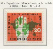 PIA - GERMANIA - 1956  : Esposizione Internazionale Della Polizia A Essen  -   (Yv 116) - Nuovi