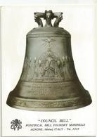 W3513/14 Agnone (Isernia) - Campana Del Concilio Council Bell - Fonderia Marinelli / Non Viaggiata - Altre Città
