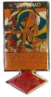 C81 - JO STOCKHOLM 1912 - V OLYMPIAD - COCA COLA - Verso : C 1990 IOC / R THE CC / C / SOURCE - Coca-Cola